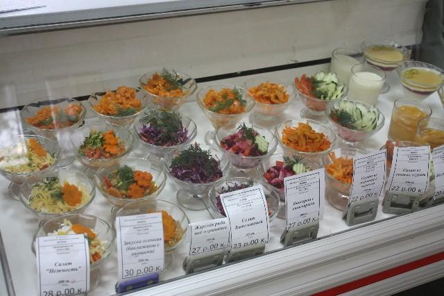 Рецепты салаты для столовой рецепты с